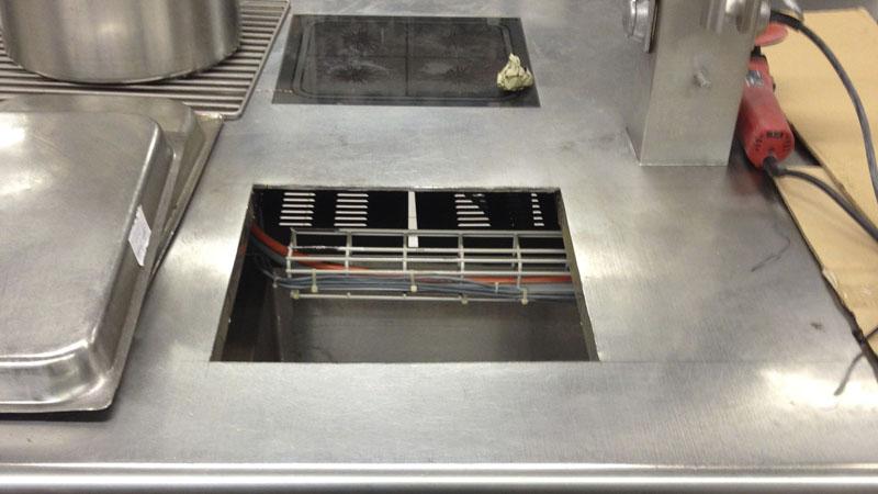 Nachträglicher Einbau einer Induktionsplatte